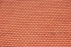 Nuova struttura rossa del tetto Fotografie Stock