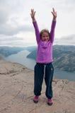 Il og superiore la montagna! Fotografie Stock Libere da Diritti