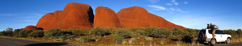 Il Olgas, Territorio del Nord, Australia Fotografie Stock
