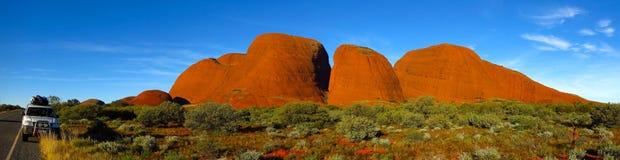 Il Olgas, Territorio del Nord, Australia Immagini Stock