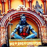 Il OM Namah Shivaya fotografia stock