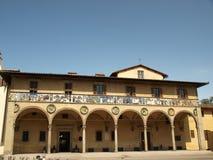 Il Ospedale del Ceppo - Pistoia Italia fotografia stock libera da diritti