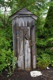 Il Outhouse Fotografia Stock Libera da Diritti