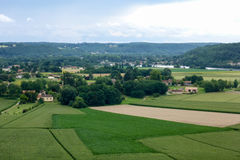 Il Périgord della Francia Fotografia Stock