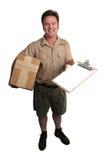 Il pacchetto è arrivato Fotografia Stock