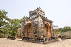 Il padiglione della tomba imperiale del Tu Duc fotografia stock libera da diritti