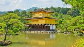 Il padiglione dorato Kinkaku-Ji a Kyoto, Giappone immagine stock libera da diritti