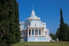 Il padiglione scorrevole della collina (Oranienbaum. La Russia) Immagine Stock