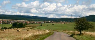 Il paesaggio ceco Fotografie Stock