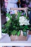 Il paesaggio dei fiori Fiori decorativi Composizione decorativa Fotografie Stock Libere da Diritti