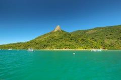 Il paesaggio del Brasile Fotografia Stock