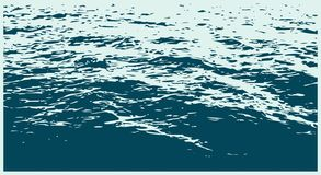 Il paesaggio del mare illustrazione vettoriale