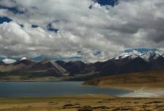 Il paesaggio del Tibet Fotografia Stock