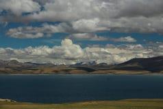 Il paesaggio del Tibet Immagine Stock