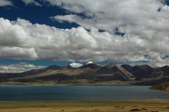 Il paesaggio del Tibet Fotografia Stock Libera da Diritti
