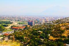 Il paesaggio dell'Albania Fotografia Stock Libera da Diritti
