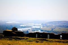 Il paesaggio dell'Albania Immagini Stock
