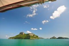 Il paesaggio dell'isola del mare Fotografie Stock Libere da Diritti