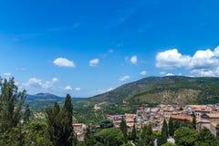 Il paesaggio dell'Italia Fotografie Stock Libere da Diritti