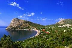 Il paesaggio della Crimea Fotografia Stock Libera da Diritti