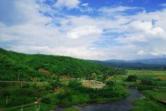Il paesaggio della montagna Immagine Stock Libera da Diritti