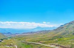 Il paesaggio della provincia dell'Ararat Immagini Stock Libere da Diritti