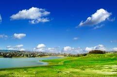 Il paesaggio della sorgente. Fotografie Stock Libere da Diritti