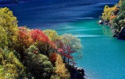 Il paesaggio di autunno Fotografia Stock