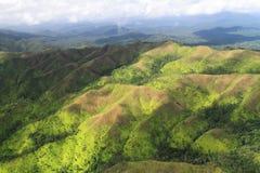 Il paesaggio di Belize del sud fotografia stock