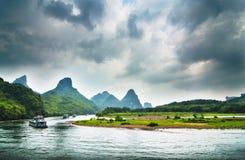 Il paesaggio di Guilin Immagini Stock