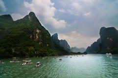 Il paesaggio di Guilin Fotografie Stock Libere da Diritti