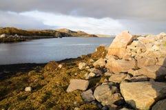 Il paesaggio di Kola Peninsula, Russia Fotografia Stock Libera da Diritti