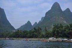Il paesaggio di Lijiang Fotografia Stock