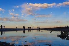 Il paesaggio di Namtso Fotografie Stock Libere da Diritti