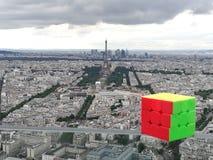 Il paesaggio 2 di Rubik fotografia stock