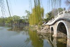 Il paesaggio di Yuanmingyuan Immagine Stock