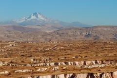 Il paesaggio e le montagne Fotografie Stock