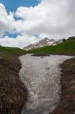 Il paesaggio magnifico della montagna della riserva naturale di Caucaso immagine stock libera da diritti
