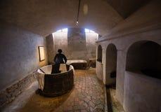 Il paesaggio nel kastell di Vaxholms della fortezza stoccolma sweden Fotografia Stock