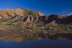 Il paesaggio in Sichuan ad ovest Fotografia Stock