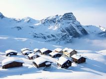 Il paese delle meraviglie di inverno! Fotografie Stock