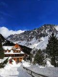 Il paese delle meraviglie di inverno in Slovacchia fotografia stock