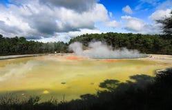 Il paese delle meraviglie geotermico immagine stock libera da diritti