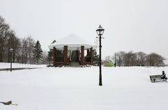 Il paese delle meraviglie invernale Fotografia Stock