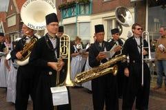 Il paesino di pescatori di Volendam, Paesi Bassi. Fotografie Stock Libere da Diritti