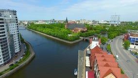 Il paesino di pescatori, Kaliningrad archivi video