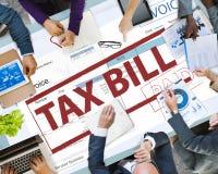 Il pagamento ha ricevuto il concetto di tempo di imposta di tasse Fotografia Stock Libera da Diritti