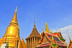 Il pagoda di Wat Phra Kaew Tailandia Fotografie Stock