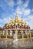 Il pagoda dorato. Fotografia Stock