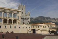 Il Palace di principe del Monaco, architettura fotografia stock libera da diritti